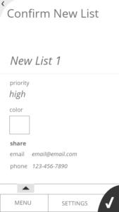 New List 3