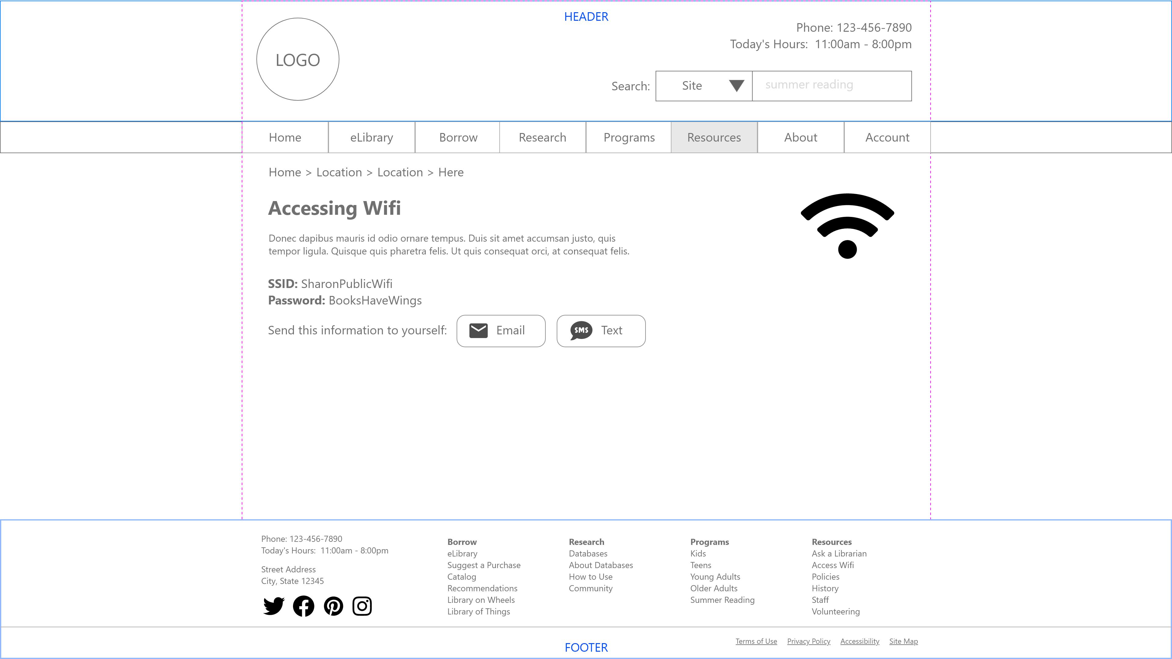 Accessing Wifi