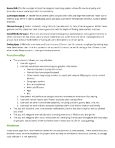 Project Brief Page 2