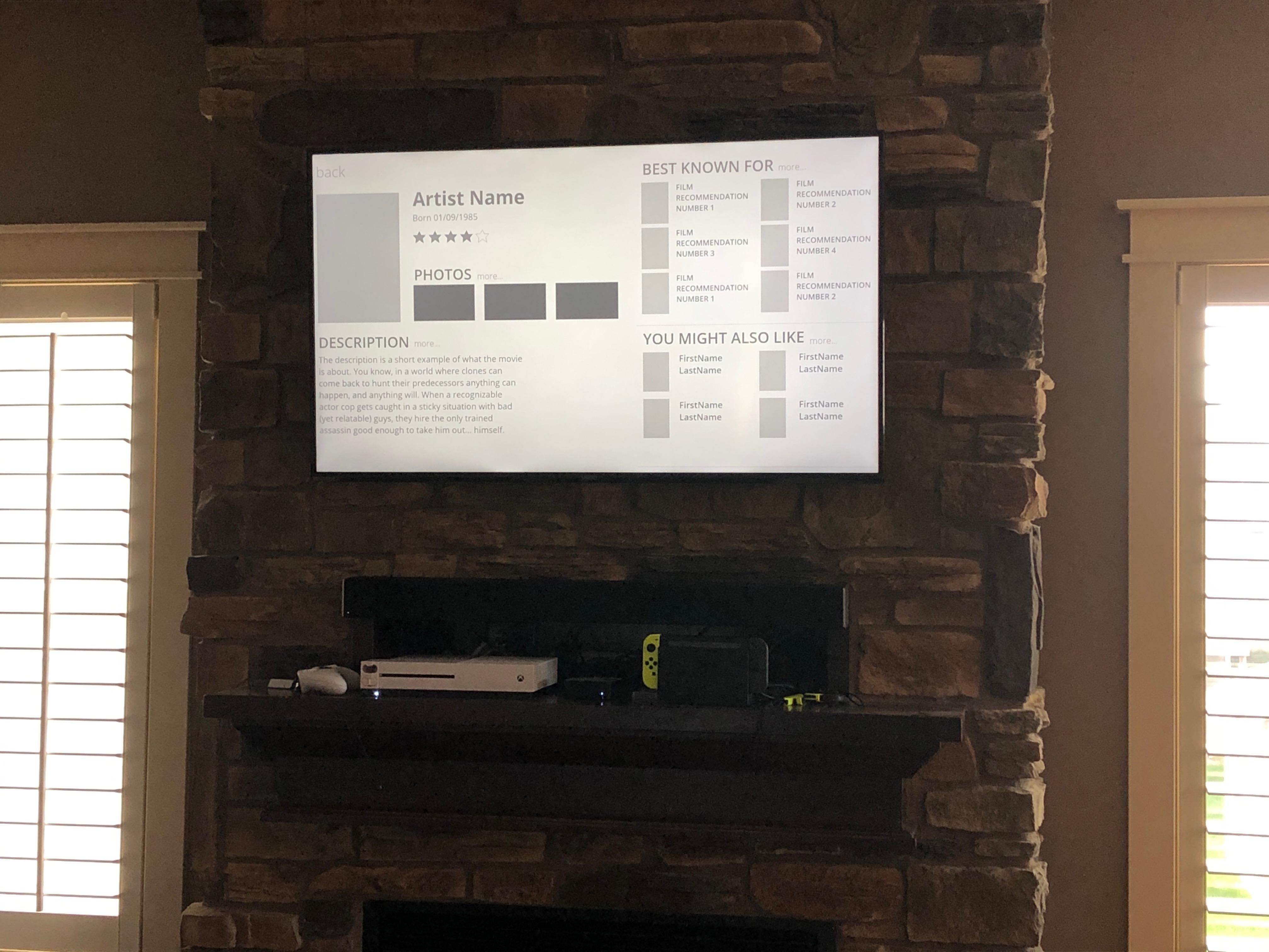 Prototype On Screen